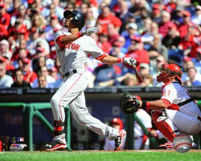 Mookie Betts 2015 Action