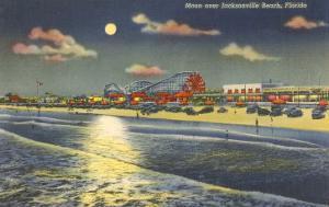 Moon over Jacksonville, Florida