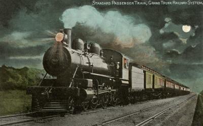 Moon over Locomotive
