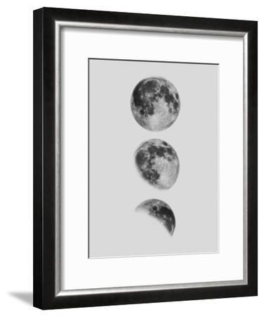 Moon--Framed Art Print
