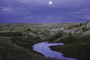Moonlit Badlands
