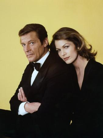 Moonraker by Lewis Gilbert with Roger Moore, Lois Chiles, 1978 (photo)
