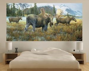 Moose (Indoor/Outdoor) Vinyl Wall Mural