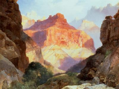 Under the Red Wall, Grand Canyon of Arizona, 1917