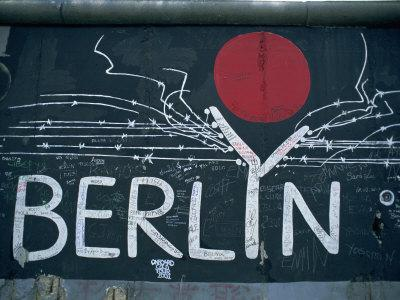 East Side Gallery, Remains Of The Berlin Wall, Berlin, Germany, Europe