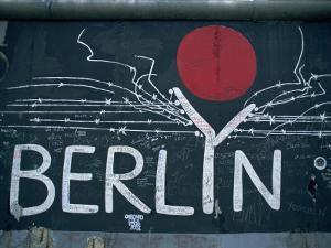 East Side Gallery, Remains of the Berlin Wall, Berlin, Germany, Europe by Morandi Bruno