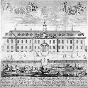 Morden College, St German's Place, Greenwich, London, C1750