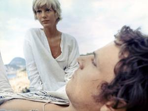 More by BarbetSchroeder with Klaus Grunberg and Mimsy Farmer, 1969 (photo)