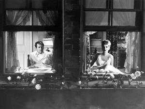 More The Merrier, Joel McCrea, Jean Arthur, 1943, Sitting Up In Bed In Seperate Rooms