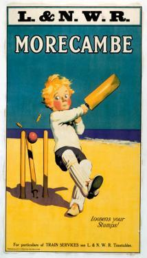 Morecambe, Loosens Your Stumps, Cricket on the Beach