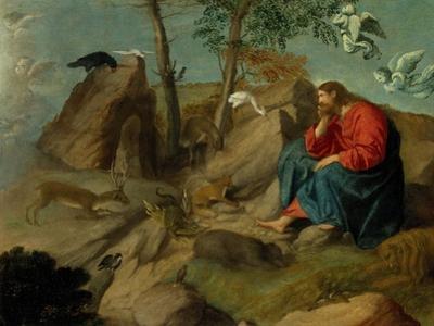 Christ in the Wilderness, c.1515-20 by Moretto da Brescia