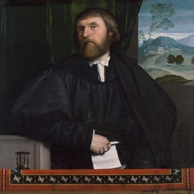 Portrait of a Man, c.1520-25 by Moretto da Brescia