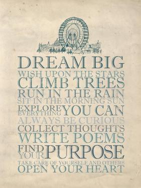 Dream Big by Morgan Yamada