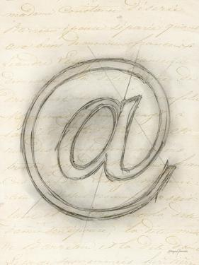 Symbol @ in Pen by Morgan Yamada