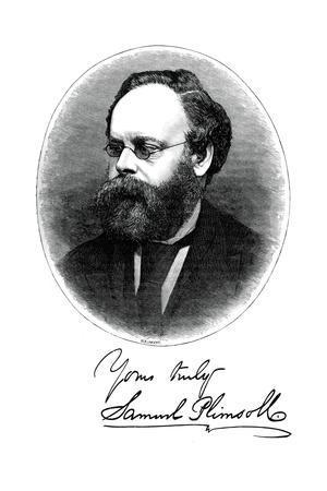 Samuel Plimsoll, British Politician and Social Reformer, C1880