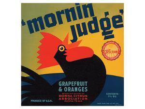 Mornin Judge Grapefruit and Oranges