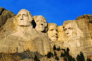 Morning Light on Mount Rushmore Memorial