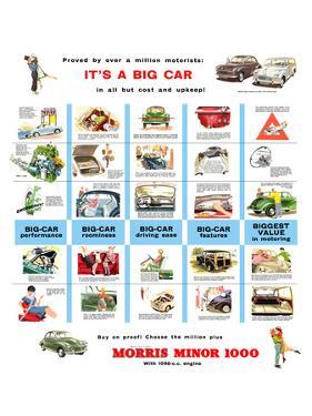 Morris Minor 1000 - a Big Car