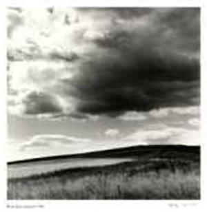 Untitled (darkening sky) by Morry Katz