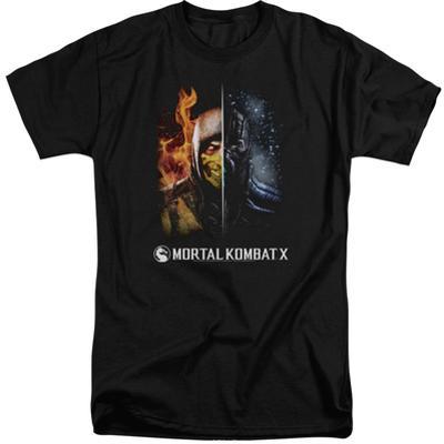 Mortal Kombat- Fire And Ice (Big & Tall)