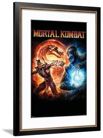 Mortal Kombat - Key Art--Framed Poster