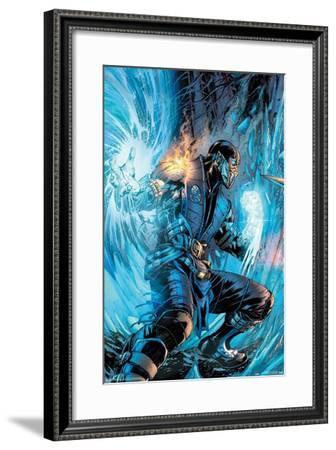 Mortal Kombat - Sub-Zero Comic--Framed Poster