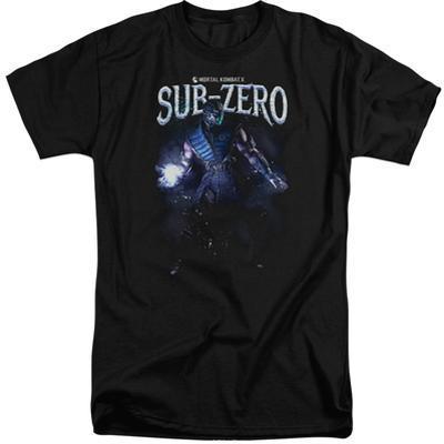 Mortal Kombat- Sub-Zero In Shadows (Big & Tall)