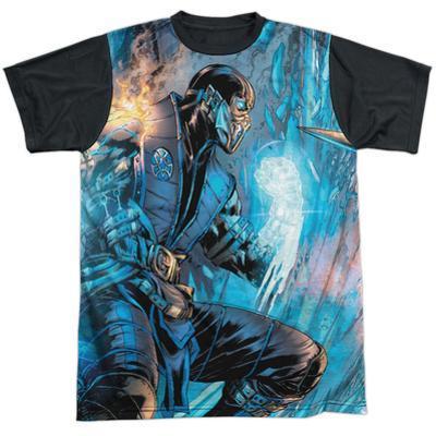 Mortal Kombat- Sub Zero Vs. Scorpion Black Back