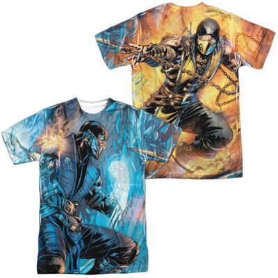 Mortal Kombat- Sub Zero Vs. Scorpion (Front/Back)