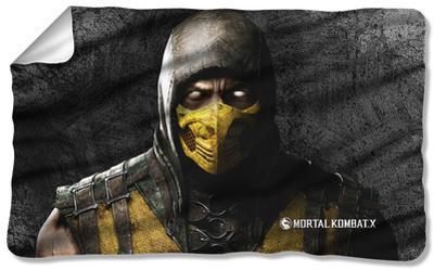 Mortal Kombat X - Scorpion Fleece Blanket