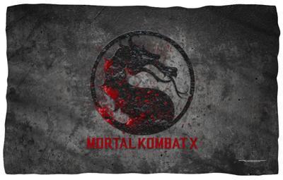 Mortal Kombat X - Stone Logo Fleece Blanket