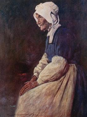 A Breton Woman by Mortimer Ludington Menpes