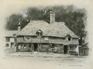 A Cottage in Surrey by Mortimer Ludington Menpes
