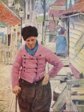 A Dutch Fisherman by Mortimer Ludington Menpes