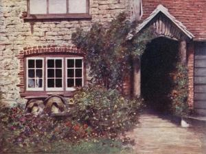 A Surrey Porch by Mortimer Ludington Menpes