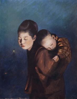 Bearing a Burden by Mortimer Ludington Menpes