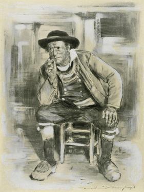Breton Peasant by Mortimer Ludington Menpes