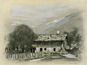 Chalet Near Lucerne by Mortimer Ludington Menpes