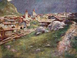 Goschenen by Mortimer Ludington Menpes
