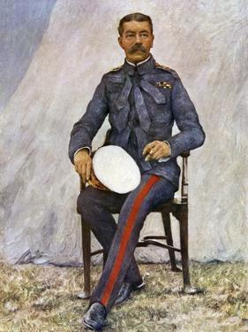 Lord Kitchener Commander-in-Chief, Delhi Durbar 1903 by Mortimer Ludington Menpes