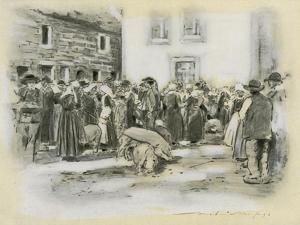 Pig Market by Mortimer Ludington Menpes