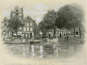 Rotterdam by Mortimer Ludington Menpes