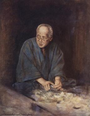 The Carpenter by Mortimer Ludington Menpes
