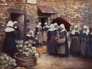 Vegetable Market by Mortimer Ludington Menpes