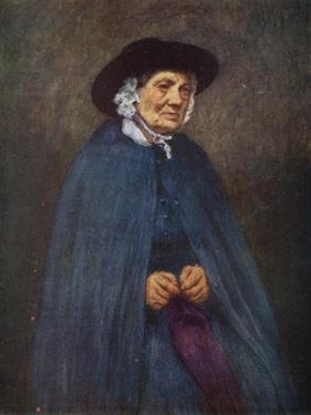 Welsh Woman by Mortimer Ludington Menpes