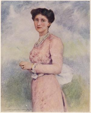 Mary Lady Curzon by Mortimer Menpes