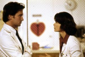 Morts suspectes Coma by Michael Crichton with Michael Douglas and Genevieve Bujold, 1978 (photo)