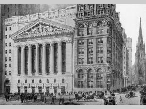 New York Stock Exchange, 1911 by Moses King