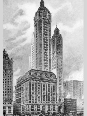 Singer Building, 1911