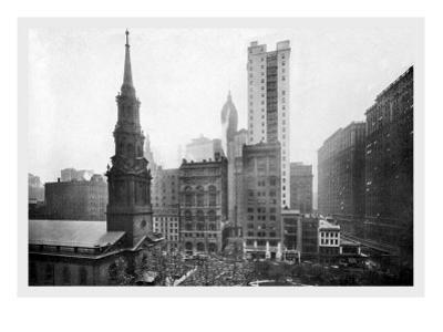 St. Paul's Chapel, 1911